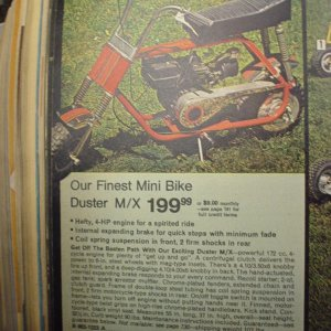 JC PENNYS MX DUSTER ADD