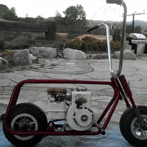 mickey thompson mini bike