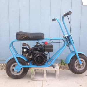 Wards mini bike