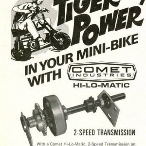 Comet 2 Speed Transmission