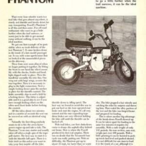 Powell Phantom Article