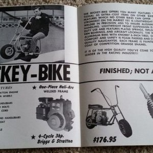 Mickey Bike Brochure