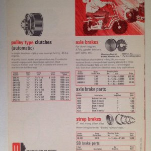 Mercury Clutch Brochure