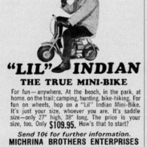 Lil Indian Ad