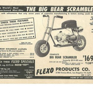Flexo Big Bear Scrambler Ad