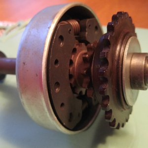 NOS Comet 2-Speed Jackshaft Clutch