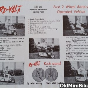 Re-Volt Electric Mini Bike