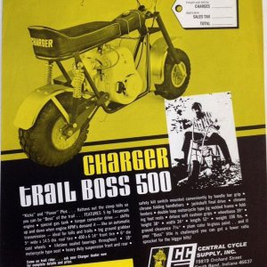 CCS Charger Trail Boss 500