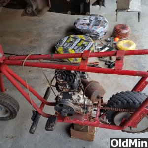 auction find mini bike