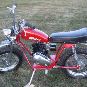 1972 Speedway Red Baron