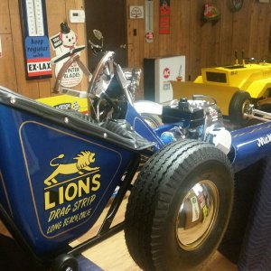 Mickey Thompson jr. dragster