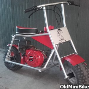 painted minibike
