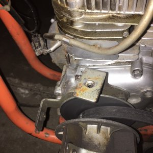 MTD ENGINE CLUTCH COVER BRACKET 3