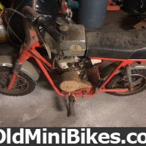 Garage found Fox mini bike by bohero
