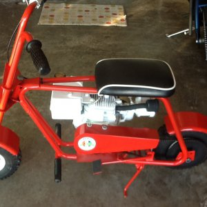 Foremost minibike 2.5hp 1970