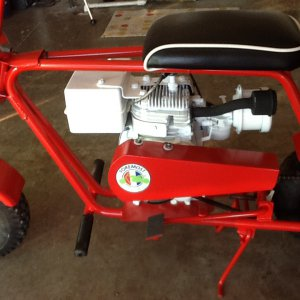 Foremost minibike 2.5hp 2