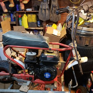 SE Woods bike restoration