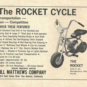 Rocket Cycle Ad 1