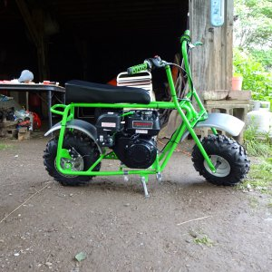 Baja - Dirt Bug DB-30S Mini Bike finished restoration picture #3.JPG