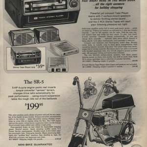 sears wishbook 1971 SR-5