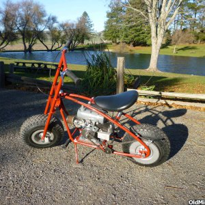 Super Savage minibike