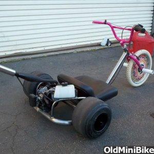 Motorized Drift Trike | OldMiniBikes com