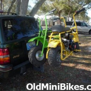 Have minibikes, will travel