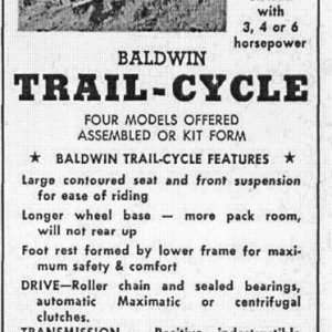 1960s Trail-Cycle magazine ad