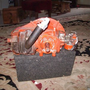 jacobsen 2 stroke with tecumseh 2 stroke pipe
