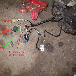 Honda GX160 lighting starter wiring