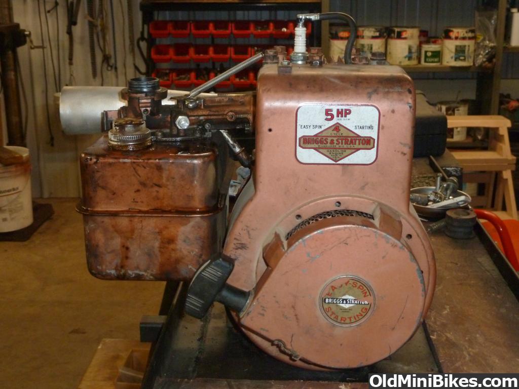 Copper Briggs & Stratton Flathead | OldMiniBikes com