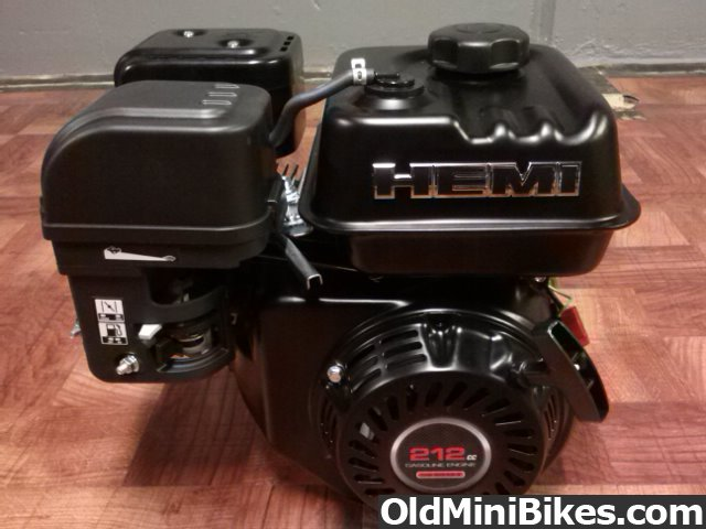 Predator 212 HEMI   OldMiniBikes com